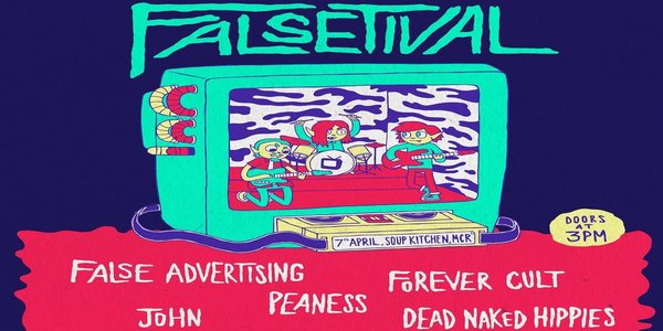 False Advertising Announce All Day Falsetival Event For April